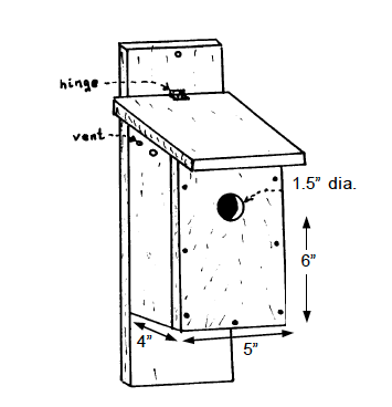 Figure 1. Songbird box.