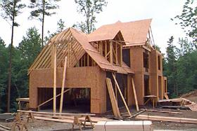 Figure 1. New house under construction.