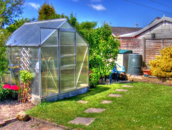 greenhouse free standing