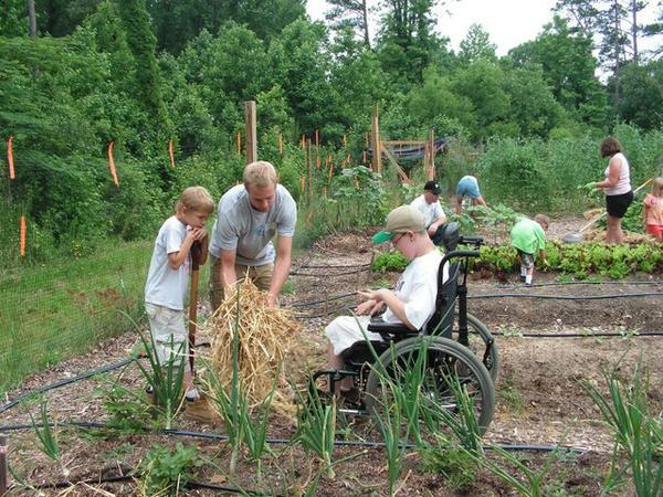 Photo of Slate Gray, Covenant Community Garden, Fuquay-Varina