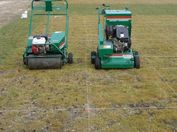 core aerator and slitseeder