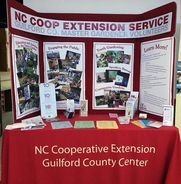 Photo of a Guilford County design display
