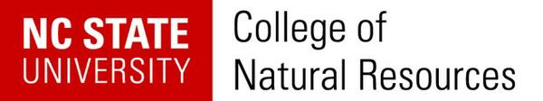 NC State College of Natural Resources logo.