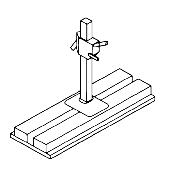 Illustration of an automobile jack