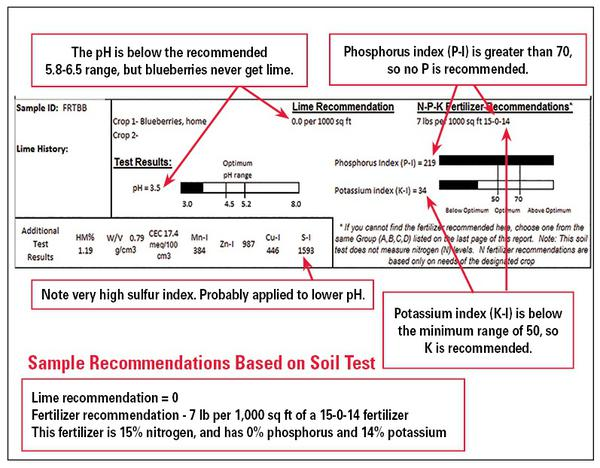 Figure 1–25. Soil test report example 3.