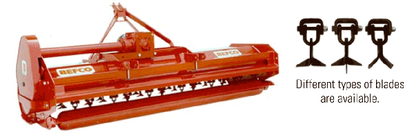 Photo of flail mower