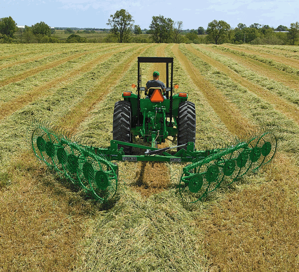 Photo of hay wheel rake