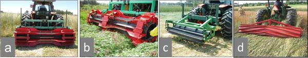 Thumbnail image for Chapter 11: Rolled Cover Crop Mulches for Organic Corn and Soybean Production