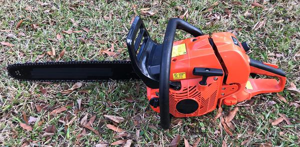 Gas-powered chainsaw