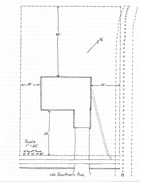 A Plot Plan Shows The Property Lines, Utility Easements, And The Layout Of  The House. A Plot Plan Should Also Contain A Scale, A North Arrow, ...
