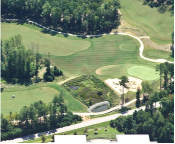 Figure 3. CSW located near the no. 3 green on Lonnie Poole Golf