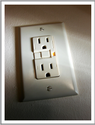 Test ground fault circuit interrupters monthly.