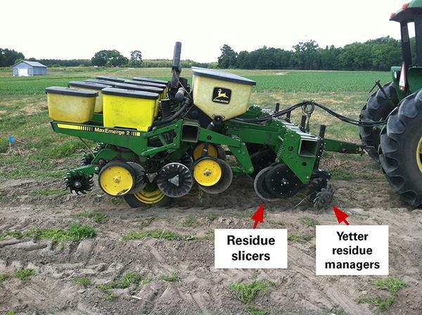 Organic No Till Corn Production Cover Crop And Starter Fertilizer