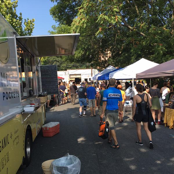 Figure 9. Food trucks at farmers markets and special events have