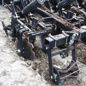 One of three different designs of strip-till rigs.
