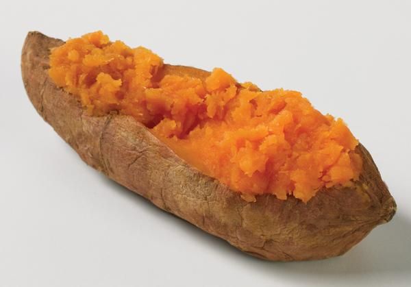 Baked sweetpotatoes are always a favorite.