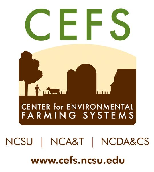 Center for Environmental Farming Systems logo.