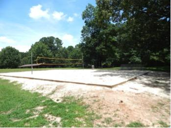 Small volleyball court.